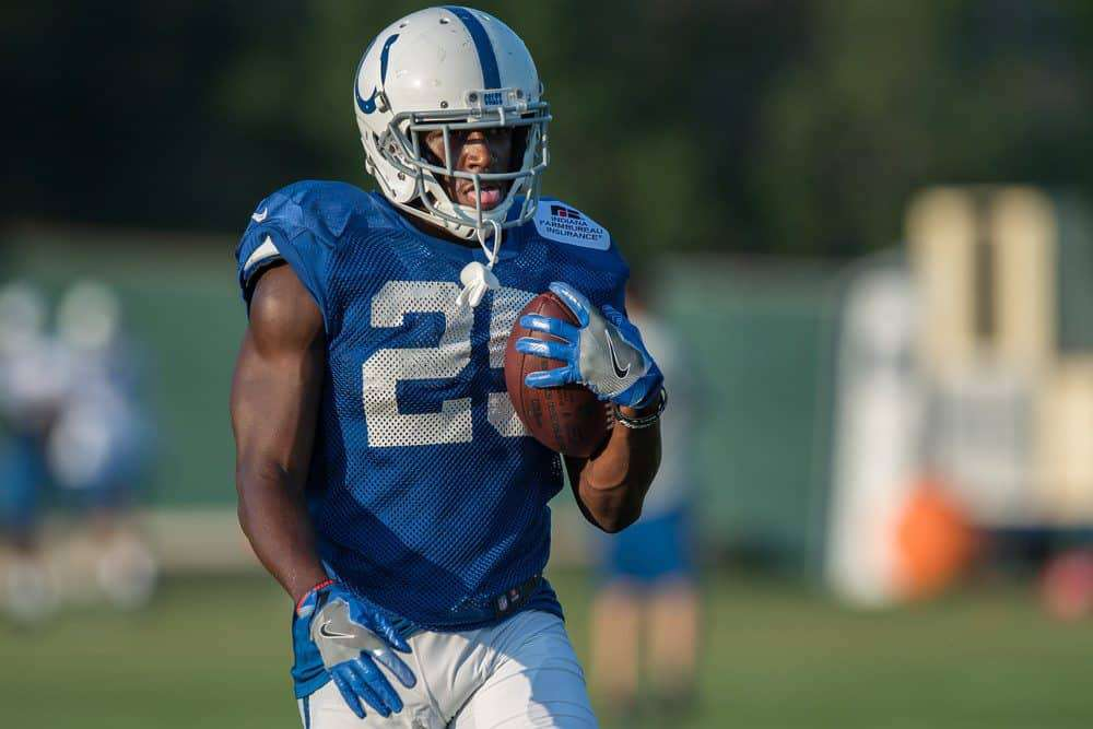 Marlon Mack NFL Fantasy Stock Watch