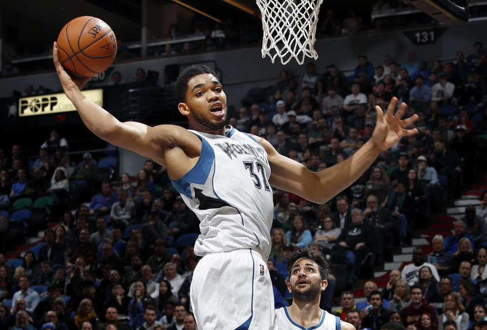 NBA DFS Plays for Wednesday, 1/22: Towns Time