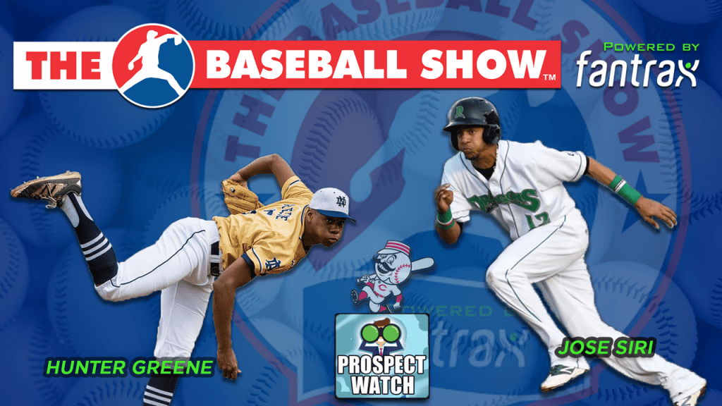 The Baseball Show: Hunter Greene, Jose Siri, Justin Smoak