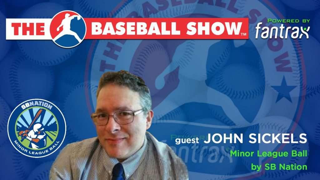 The Baseball Show, S2.E5 guest John Sickels
