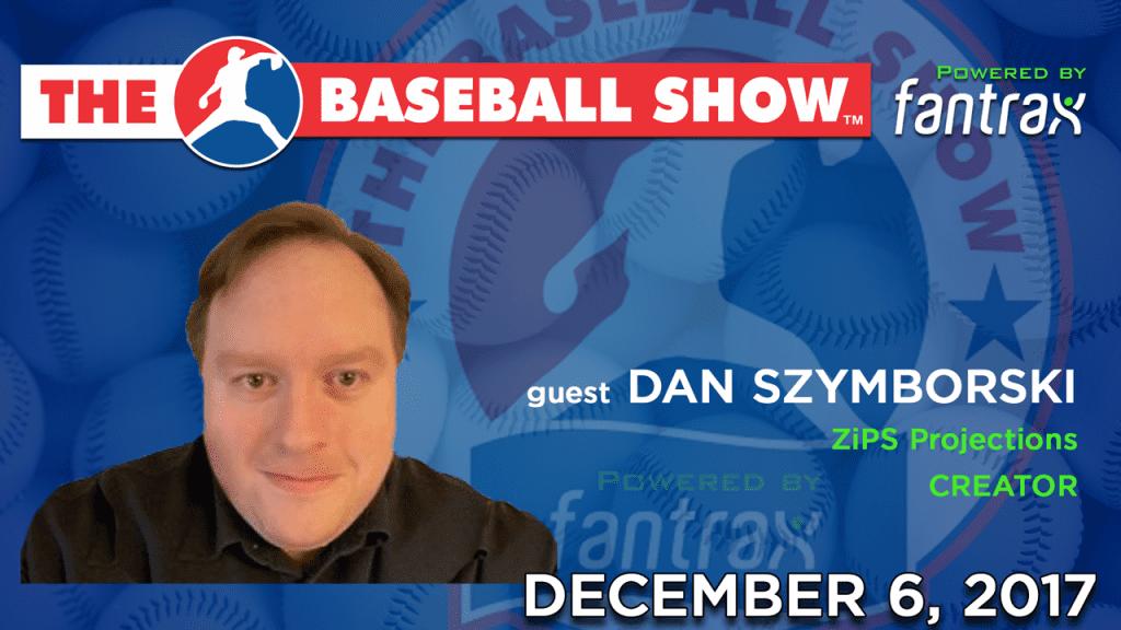 The Baseball Show S2.E2 guest Dan Szymborski