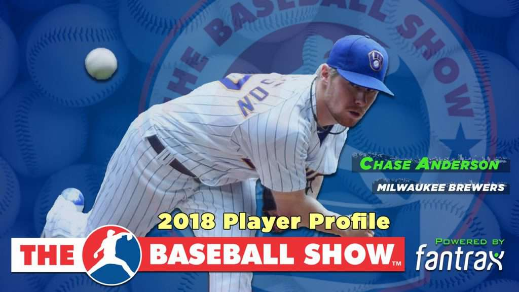 Chase Anderson, SP Brewers [Video]