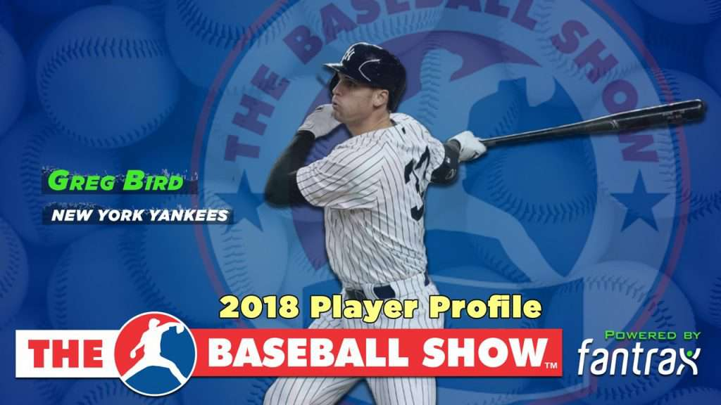 Greg Bird, 1B Yankees [Video]