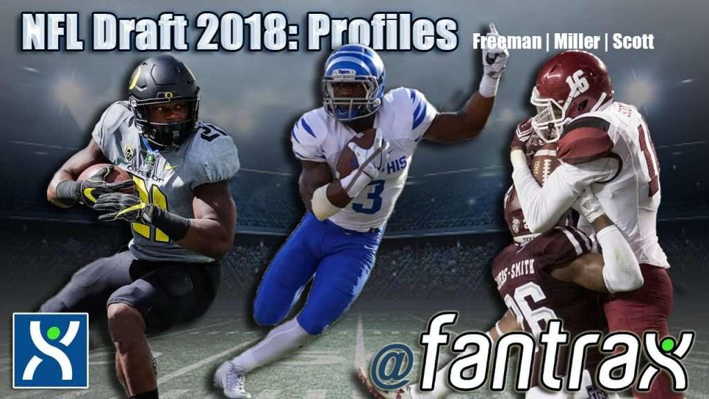 2018 NFL Draft Profiles: Royce Freeman, Anthony Miller, Jaleel Scott [Video]
