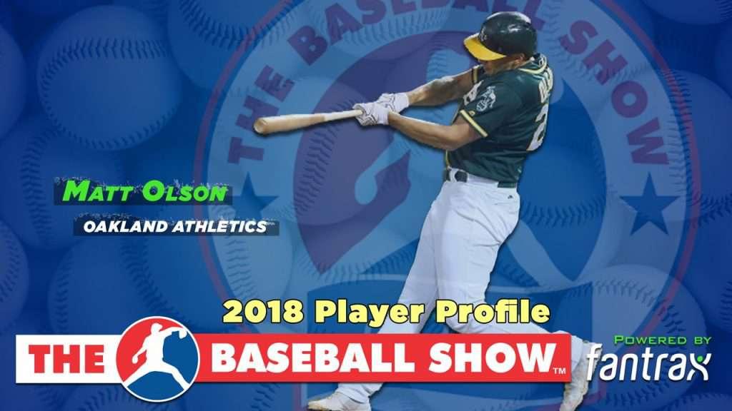 Matt Olson, 1B Athletics [Video]
