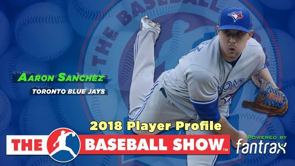 Aaron Sanchez, SP Blue Jays [Video]