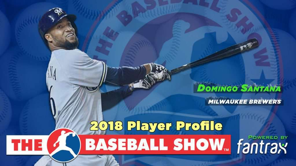Domingo Santana, OF Brewers [Video]