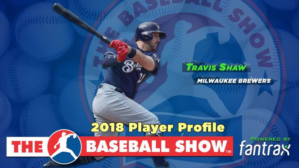 Travis Shaw, 3B Brewers [Video]
