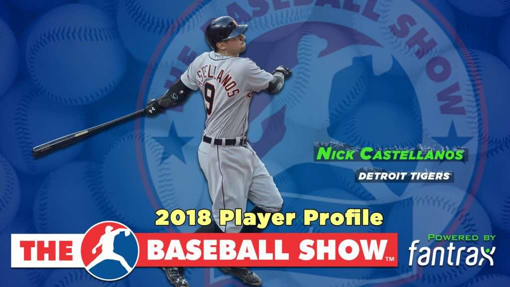 Nick Castellanos, 3B Tigers [Video]
