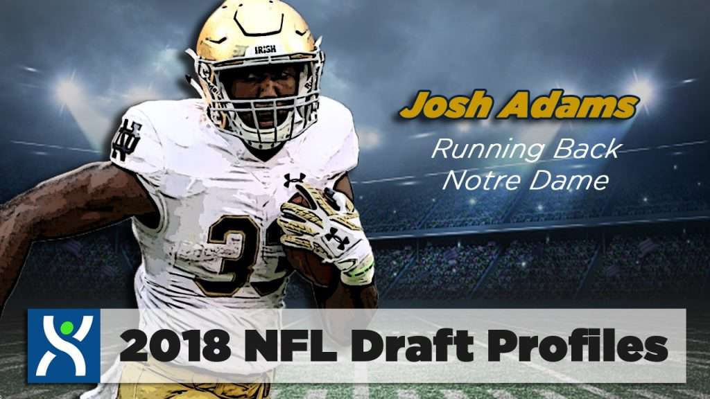 NFL Draft ProFiles: Josh Adams [Video]