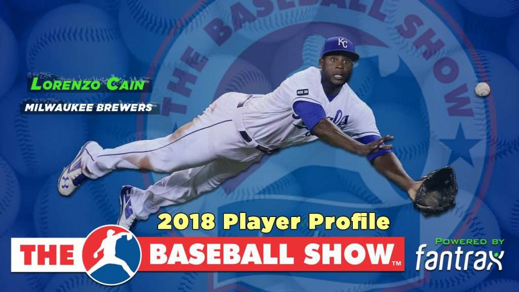 Lorenzo Cain, OF Brewers [Video]