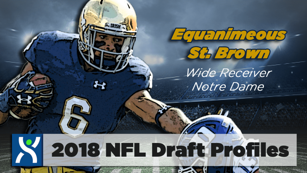 NFL Draft ProFiles: Equanimeous St. Brown [VIDEO]