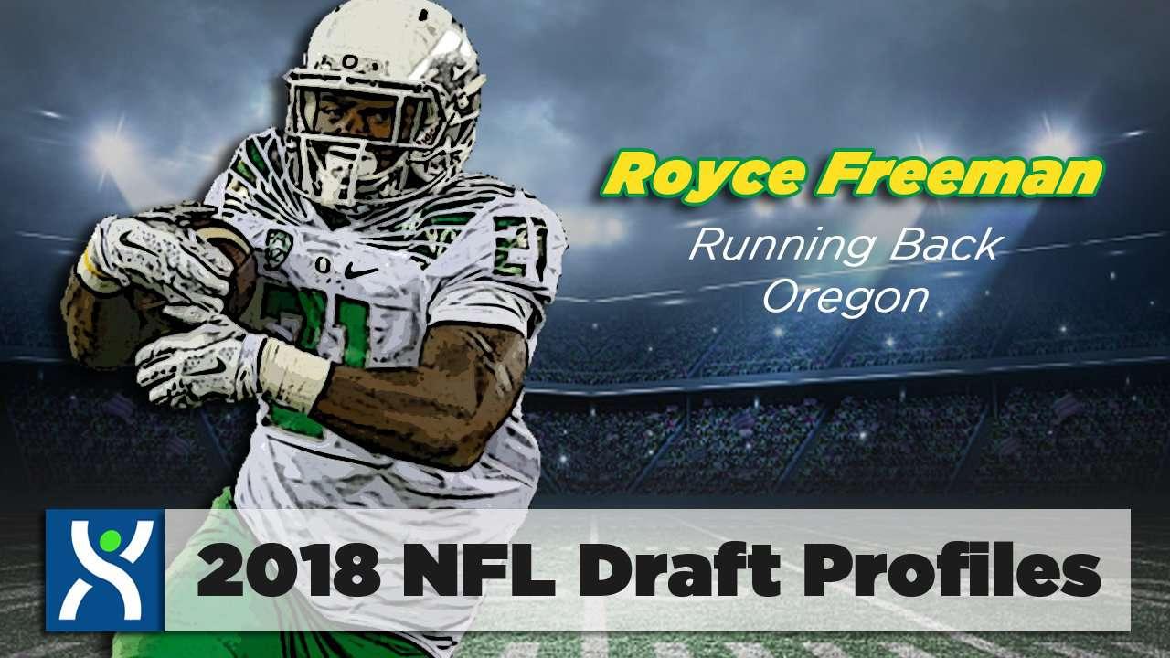 Royce Freeman, RB University of Oregon 2018 NFL Draft Profile
