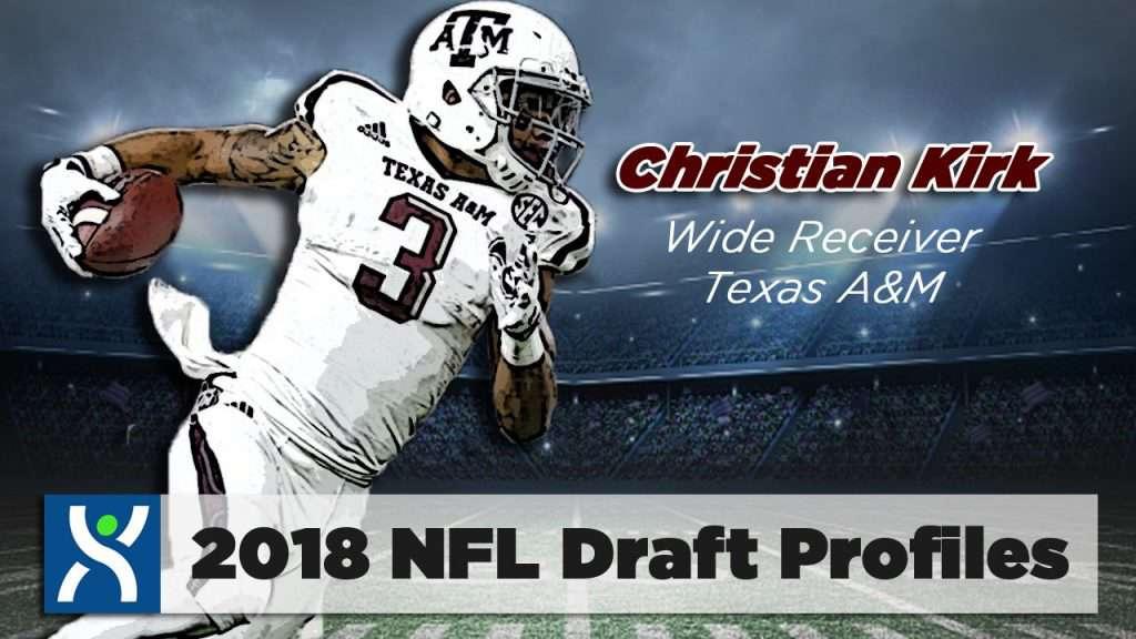 NFL Draft ProFiles: Christian Kirk [VIDEO]