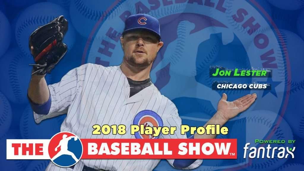 Jon Lester, SP Cubs [Video]