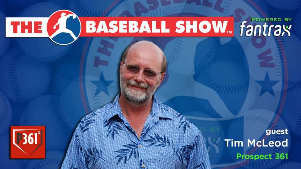 The Baseball Show, S2.E14 Tim McLeod [Video]