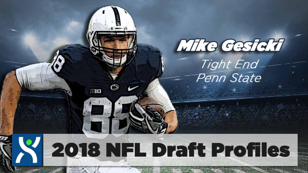 NFL Draft ProFiles: Mike Gesicki [VIDEO]