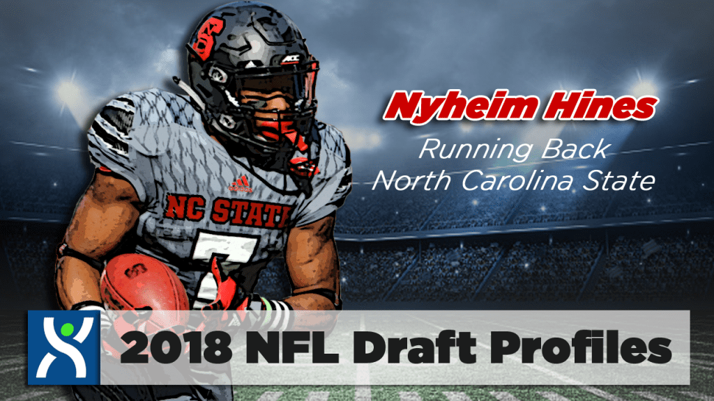 NFL Draft ProFiles: Nyheim Hines [VIDEO]