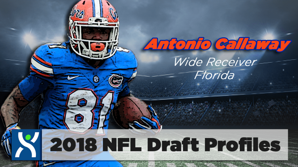 NFL Draft ProFiles: Antonio Callaway [VIDEO]
