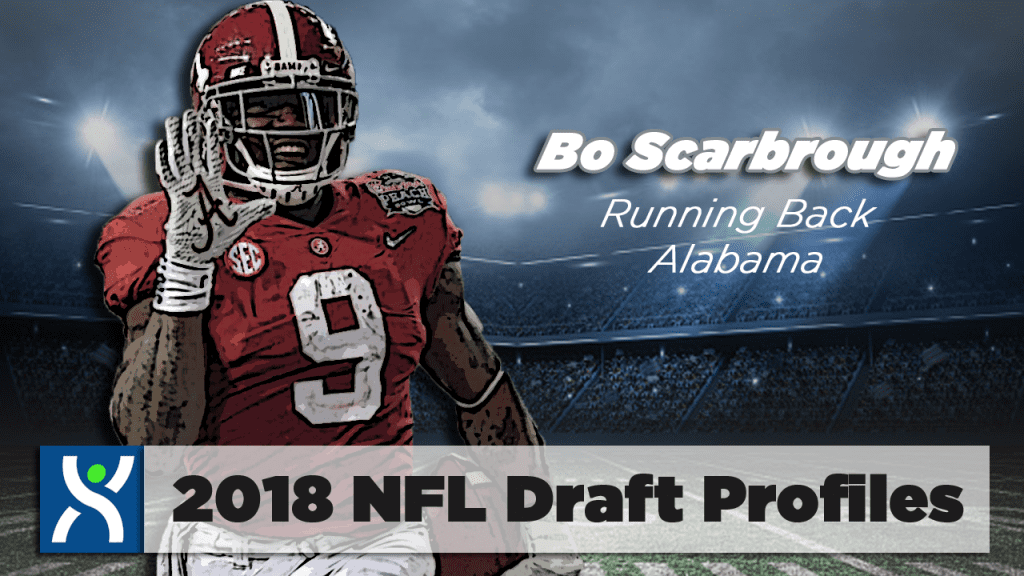 NFL Draft ProFiles: Bo Scarbrough [VIDEO]