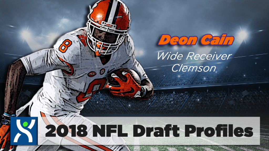 NFL Draft ProFiles: Deon Cain [VIDEO]