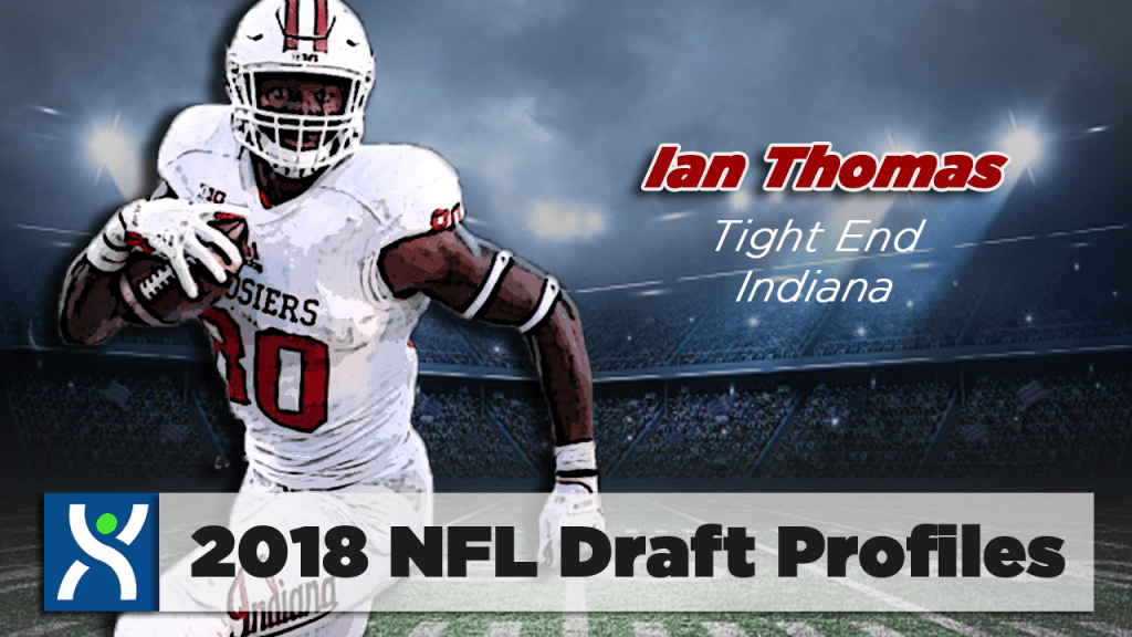 NFL Draft ProFiles: Ian Thomas [VIDEO]
