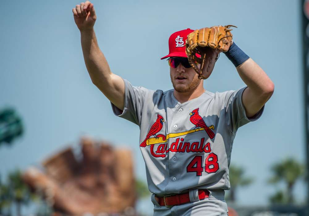 Harrison Bader is a midseason breakout candidate if he receives increased playing time