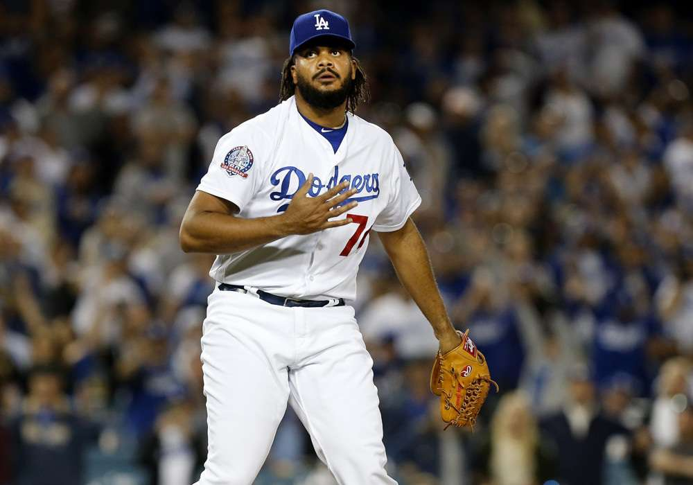 Kenley Jansen is back in his rightful place in our closer rankings