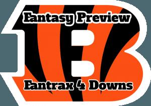 Cincinnati Bengals Fantasy Preview – Fantrax 4 Downs