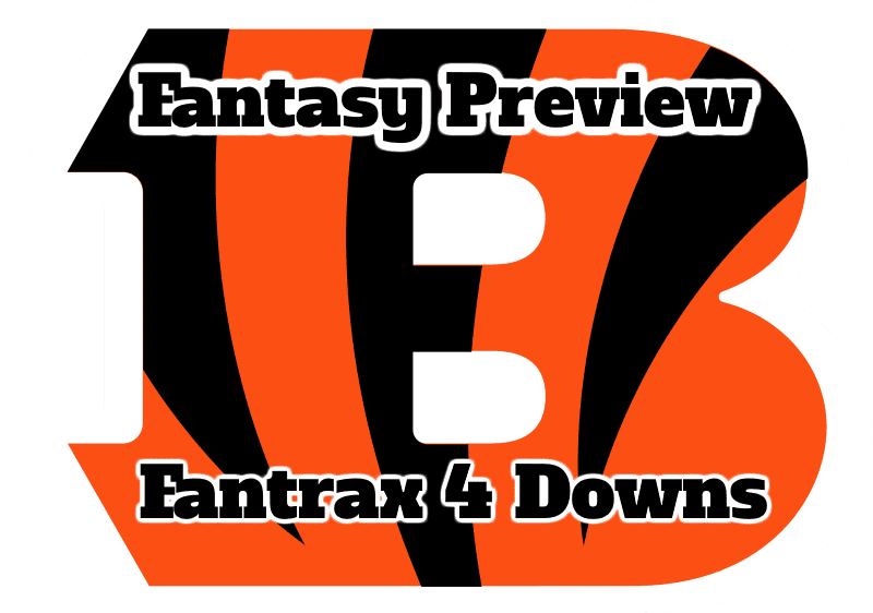 Cincinnati Bengals Fantasy Preview – Fantrax 4 Downs