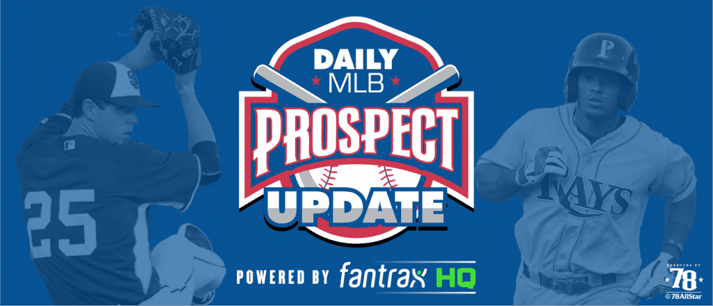 MLB Prospect Stats Update: Games from 8/29