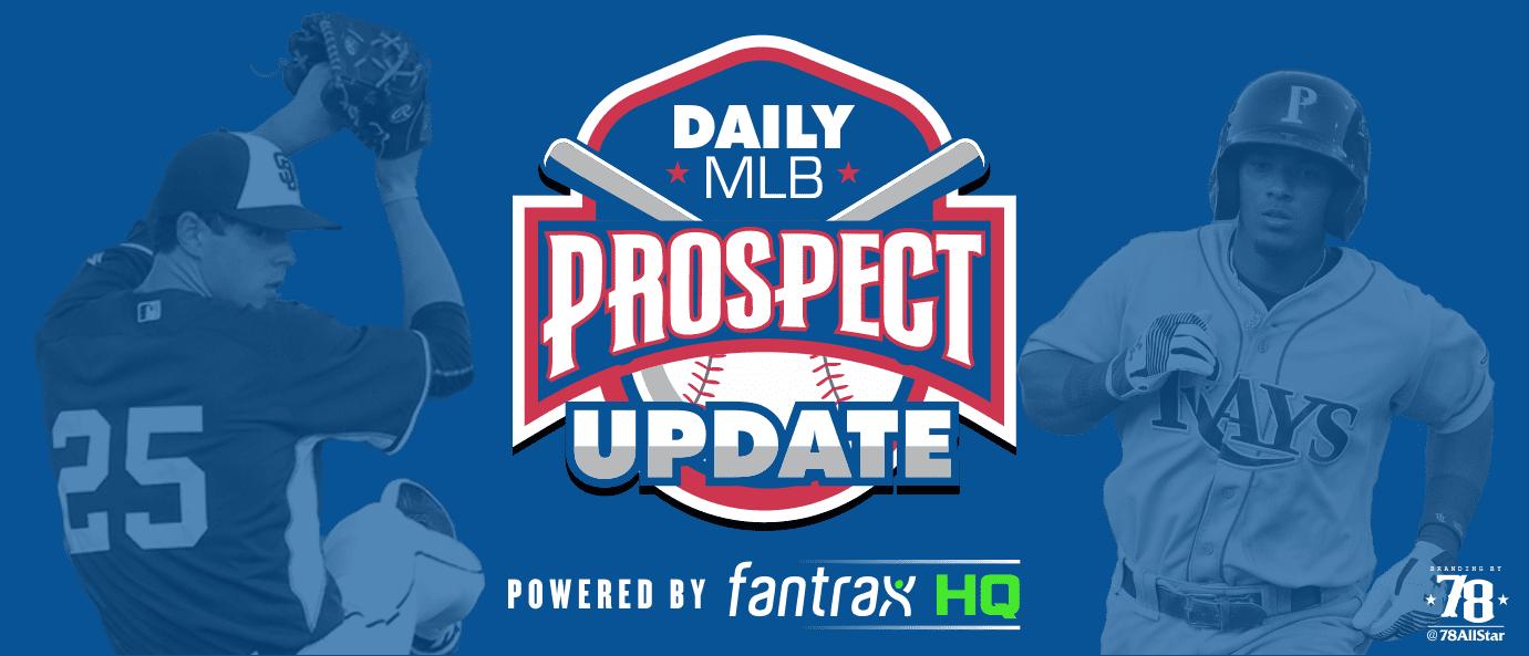 MLB prospect stats update