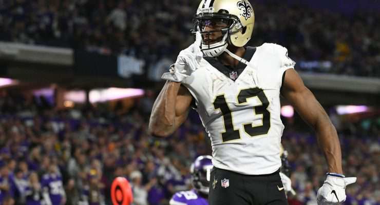 Top 100 PPR Wide Receiver Rankings for 2020