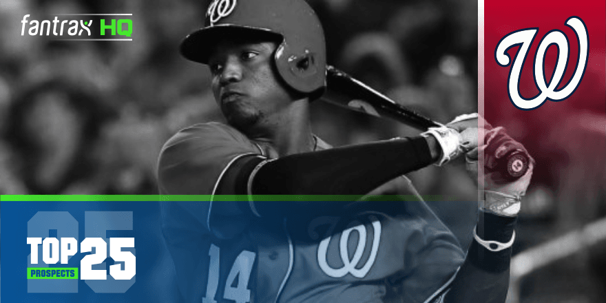 Washington Nationals Top-25 Prospects