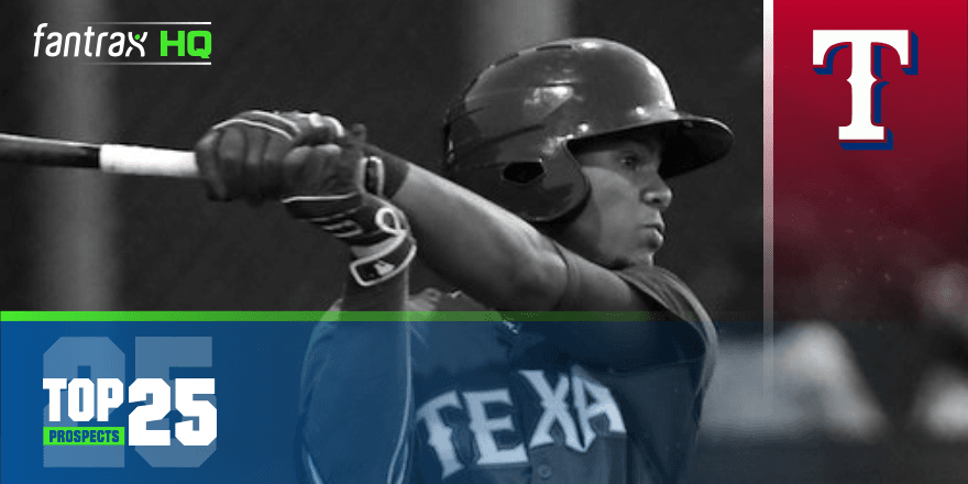 Texas Rangers Top-25 Prospects