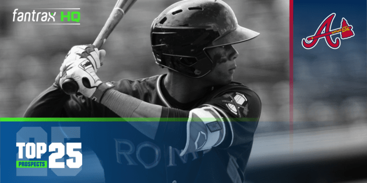 Atlanta Braves Top-25 Prospects | FantraxHQ