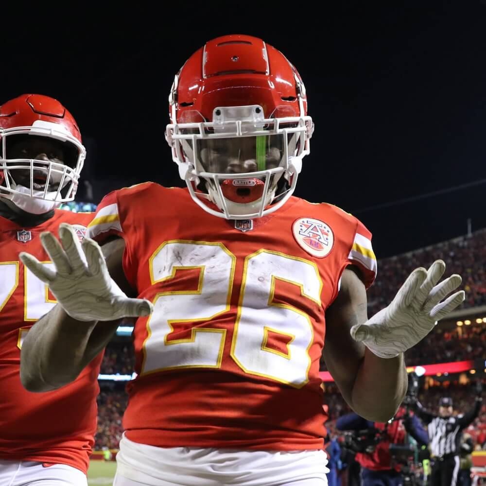 Damien Williams 2019 NFL Draft Day Winners