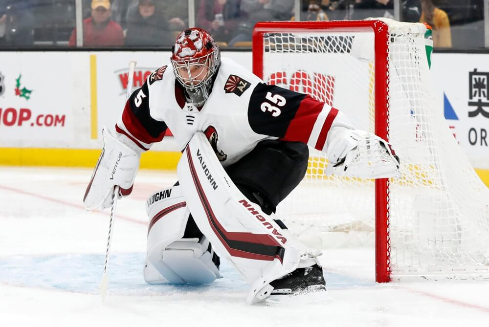 Fantasy Hockey Goalie Report: Kuemper Keeps Coyotes Alive