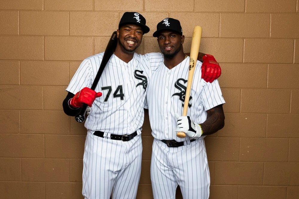 Eloy Jimenez and Luis Robert Fantasy Baseball MLB Prospects