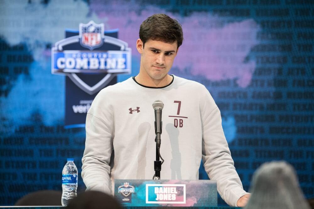 NFL Draft: New York  Giants Select QB Daniel Jones