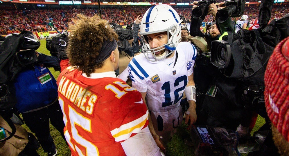 Andrew Luck over Patrick Mahomes