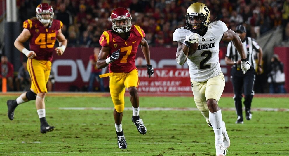 College Fantasy Football: CFF Wide Receiver Rankings