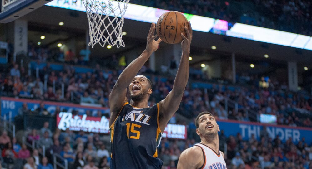 Industry Best Ball Draft Derrick Favors