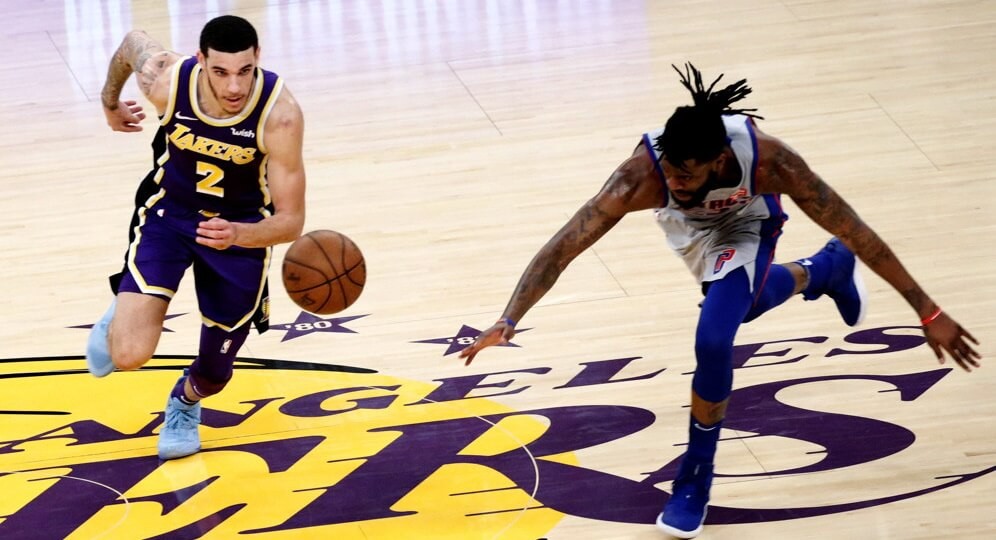 Out of Position Stats Lonzo Ball