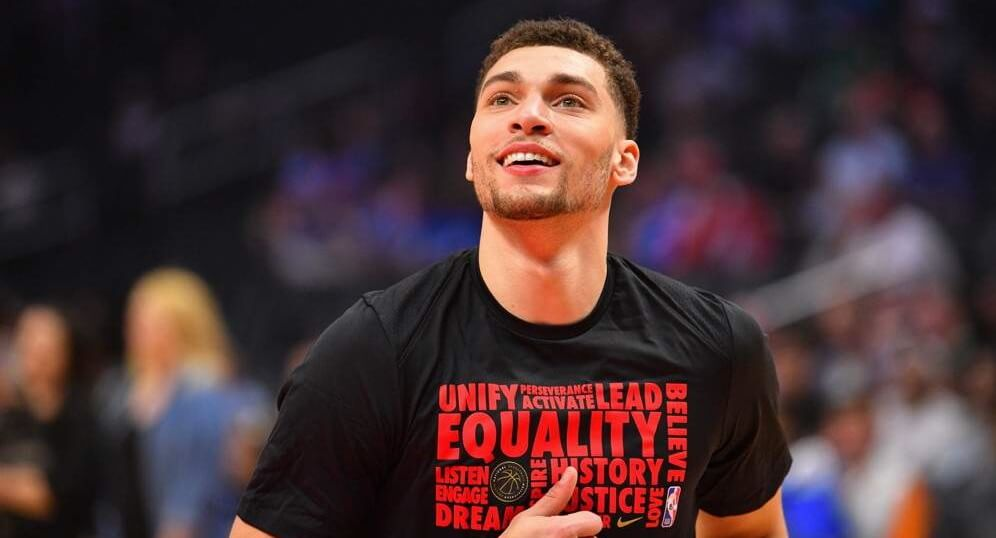 Zach Lavine NBA DFS Projected NBA Playing Time