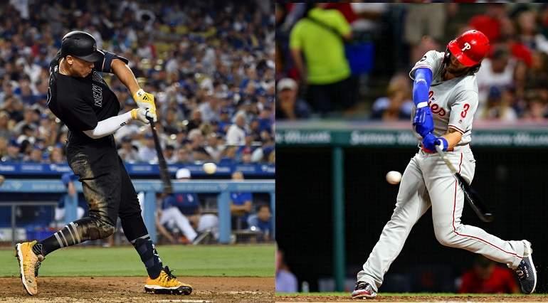 Fantasy Baseball Player Debate: Aaron Judge vs. Bryce Harper