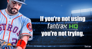 FantraxHQ Fantasy Baseball Draft Kit Ad