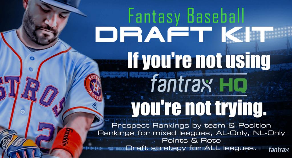 2020 FantraxHQ Fantasy Baseball Draft Kit