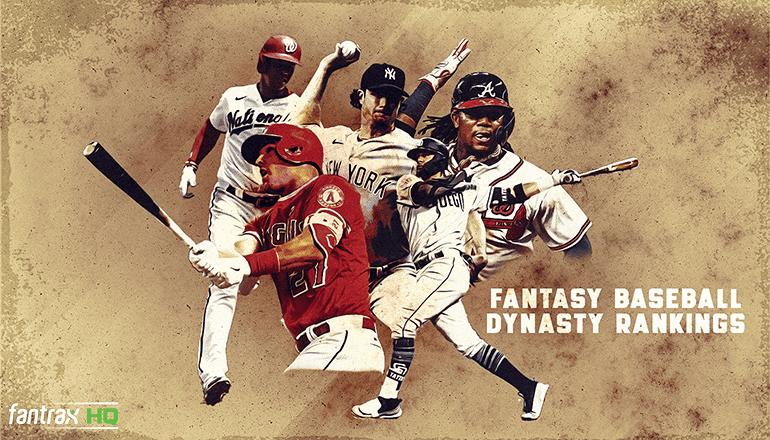 Top-500 Fantasy Baseball Dynasty Rankings: October 2020