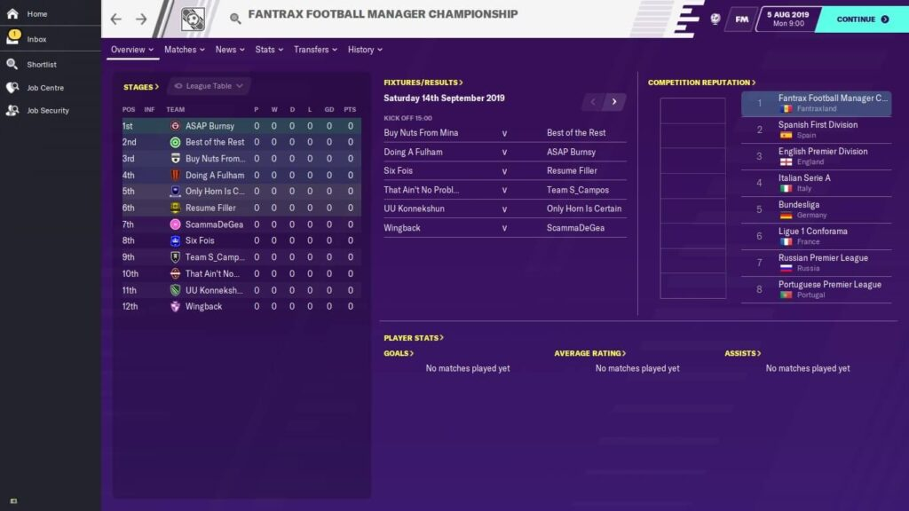 Fantrax Does Football Manager with @TT_CAM: Part 5
